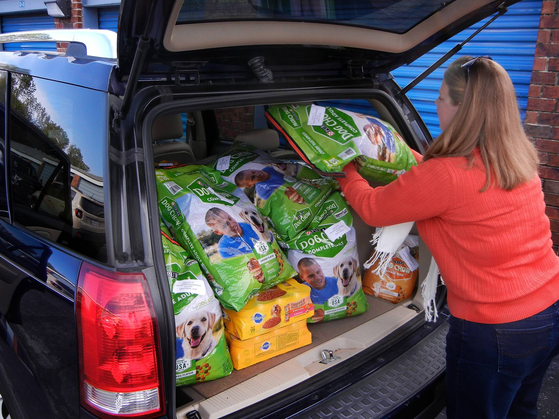 senior citizens, elderly, pet food deliveries