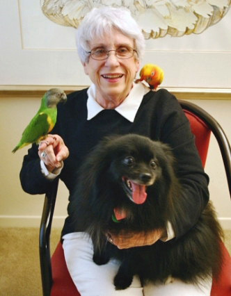 founder adelle taylor, seniors pet assistance network