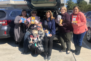 pet food and toy donations